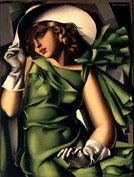 Tamara de Lempicka - Jeune fille aux gants 1930