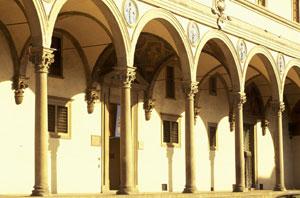 Facciata Istituto degli Innocenti di Firenze