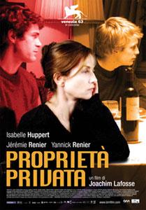 Locandina del film Proprietà privata