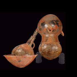 Apparato distillatorio - Scavo di Pyrgos: inizio II millennio a.C. (Museo del Distretto di Limassol)