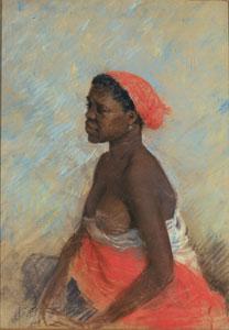 Giuseppe De Nittis, Donna di colore 1883