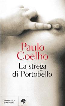Copertina libro di Paulo Coelho - La strega di Portobello
