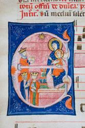 Miniatore umbro, Antifonario 1280-1290 (Todi, Biblioteca Comunale)