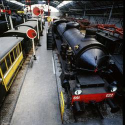 Museo Nazionale della Scienza e della Tecnologia Leonardo da Vinci - Padiglione ferroviario