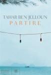 Copertina libro di Tahar Ben Jelloun - Partire