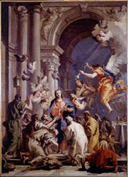 Gian Domenico Tiepolo, Istituzione dell'Eucarestia 1778 ca. (Venezia, Polo Museale)