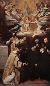 Baccio Ciarpi, Morte di San Benedetto (Roma, Convento di Sant'Ambrogio alla Massima, Proprietà Fondo Edifici di Culto)