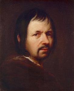 Johann Kupezky  (Pézinok 1666 - Norimberga  1740), Autoritratto, olio su tela, cm 44x36, circa 1706. Milano, Pincacoteca di Brera