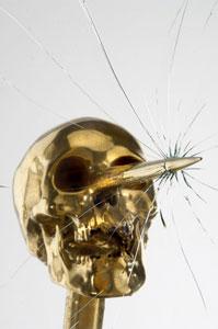 Bertozzi&Casoni, La bugia dell'arte, ceramica, metallo e vetro
