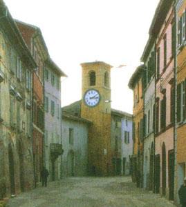 Casola Valsenio - La Torre dell'Orologio