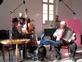 Jeremy Deller, Theme Tune for Berlin Biennial by Klezmer chidesch, 2006, dvd, 7 minutes, Courtesy the artist/Gavin Brown's enterprise New York