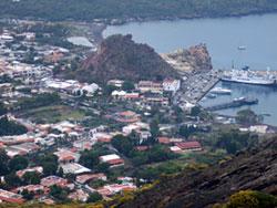 Isole Eolie, il porto di Vulcano
