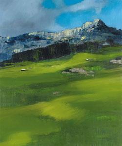 Massimiliano Alioto,  Naturale, 2007, olio su tela, 120×100 cm