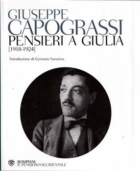 Giuseppe Capograssi - Pensieri a Giulia