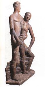 Marcello Mascherini, La sirena, 1933 - Gesso patinato - Trieste, Civico Museo Revoltella
