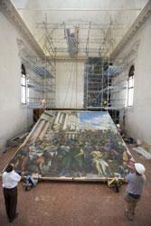 Collocazione del facsimile del dipinto Le nozze di Cana