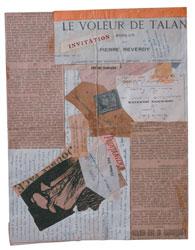 André Breton, Lettre et collage à Jacques Vaché de André Breton, Janvier 1919, 1919, tecnica mista, 21×27, collezione Sylvio Perlstein, Anversa