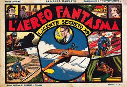 Agente segreto X-9  © King Features Syndicate, 1934