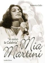 """Copertina del libro di Domenico Gallo - Mia Martini, """"Io sono la Calabria"""""""