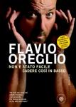 Copertina del libro di Flavio Oreglio, Non è stato facile cadere così in basso