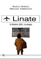 Copertina del libro di Giulio Cavalli e Fabrizio Tummolillo, Linate 8 ottobre 2001: la strage