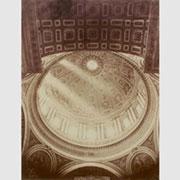 Fotografo non identificato, Interno della cupola di San Pietro, 1860 circa