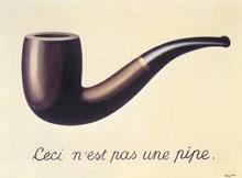 Magritte - Ceci n'est pas une pipe