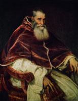 Ritratto di Paolo III Farnese, (cm 113,7 x 88,8), NAPOLI, Museo di Capodimonte
