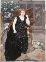 Alfred Roll, (Paris, 1846 – Paris, 1919), Portrait de Jane Hading, 1890, Huile sur toile, 192 x 140 cm, © Petit Palais / Roger-Viollet