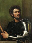 Sebastiano del Piombo - Ritratto di uomo in arme, 1512 - olio su tela, 87,5 x 67,3 - Hartford, CT, Wadsworth Atheneum - Museum of Art