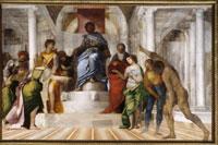 Sebastiano del Piombo - Giudizio di Salomone, 1509 - olio su tela, 211,5 x 320 - Kingston Lacy, National Trust