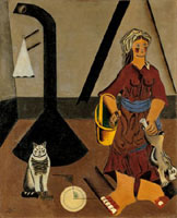 La contadina, luglio 1922 - primavera 1923, Olio su tela, cm 81 x 65,5, Parigi, Centre Georges Pompidou, Musée national d'art moderne