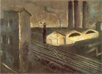 Mario Sironi, Paesaggio urbano Brera