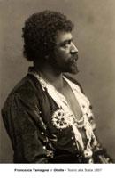 Francesco Tamagno in Otello - Teatro alla Scala 1897
