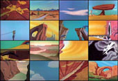 Mungo Thomson, The American Desert (for Chuck Jones), 2002, Video, dvd, 34'