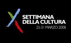 Settimana della Cultura 2008