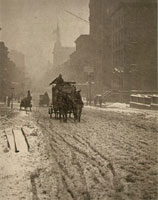 Stieglitz - Winter on the Fifth Avenue