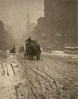 Stieglitz - Winter on the Fifth Avenue