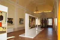 Salone di Palazzo Felici di Cagli (PU) - Mostra