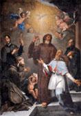 Quadro dei  Cinque S.Franceschi