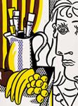 Roy Lichtenstein – Sill life with Picasso, serigrafia a colori, 61x51