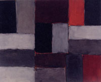 Sean Scully/Macro Future, Wall of light dusk, 2004, 183×228 cm, oil on canvas, Copyright: Sean Scully
