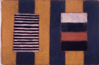 Sean Scully/Macro Future, In memory of Robin Walker,1991, Pastel on paper, 101×152 cm, Copyright: Sean Scully