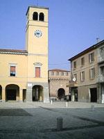 Solarolo, piazza