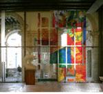 Sconfinamenti exit- entry, Installazione di Angelo Zennaro, Venezia, Ca' Pesaro-Galleria Internazionale d'Arte Moderna / 2008