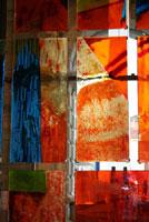 Sconfinamenti exit- entry (particolare), Installazione di Angelo Zennaro, Venezia, Ca' Pesaro-Galleria Internazionale d'Arte Moderna / 2008