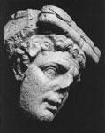 Testa di Fauno - Spoleto, collezione Antinori Petrini.