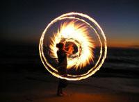 Feste Medioevali di Brisighella, Cerchi di fuoco