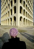 Franco Fontana, Palazzo della Civiltà - EUR, Roma, Italia, 1979