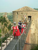 Feste Medioevali di Brisighella, Soldati nella Rocca